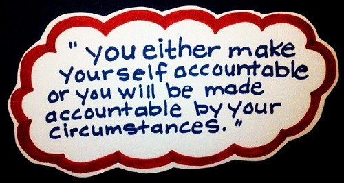 Be Accountable For your Failure