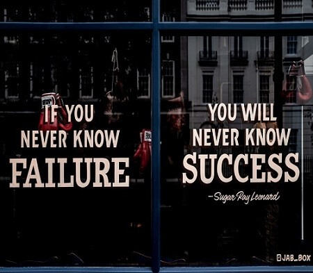 Why Failure is Important
