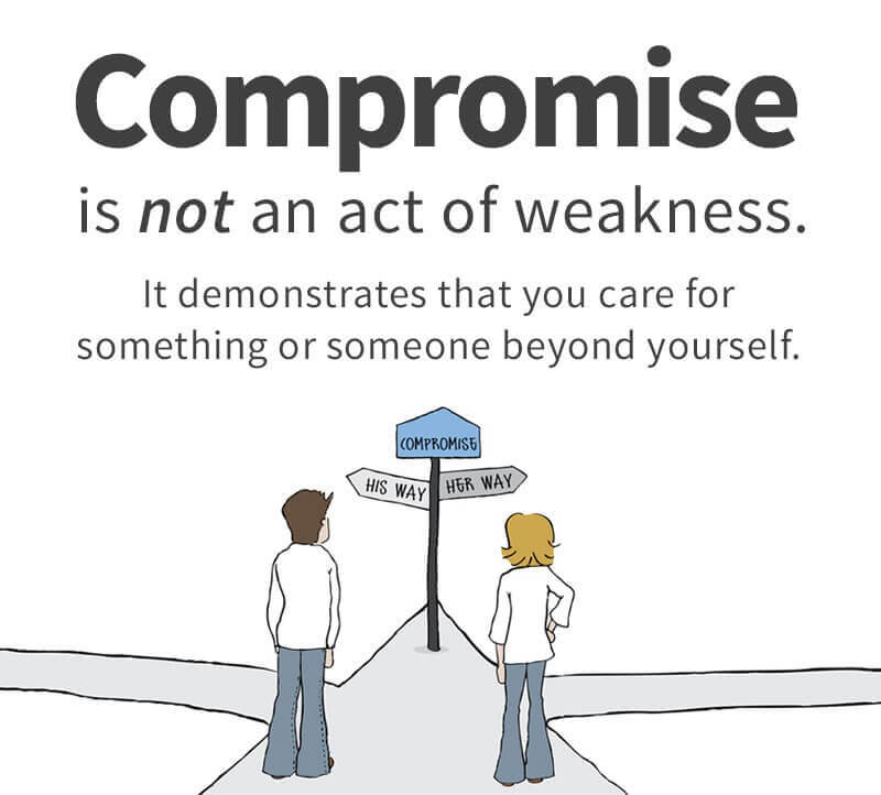 Compromise For Your Partner