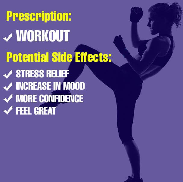 Do workout to get rid of worries