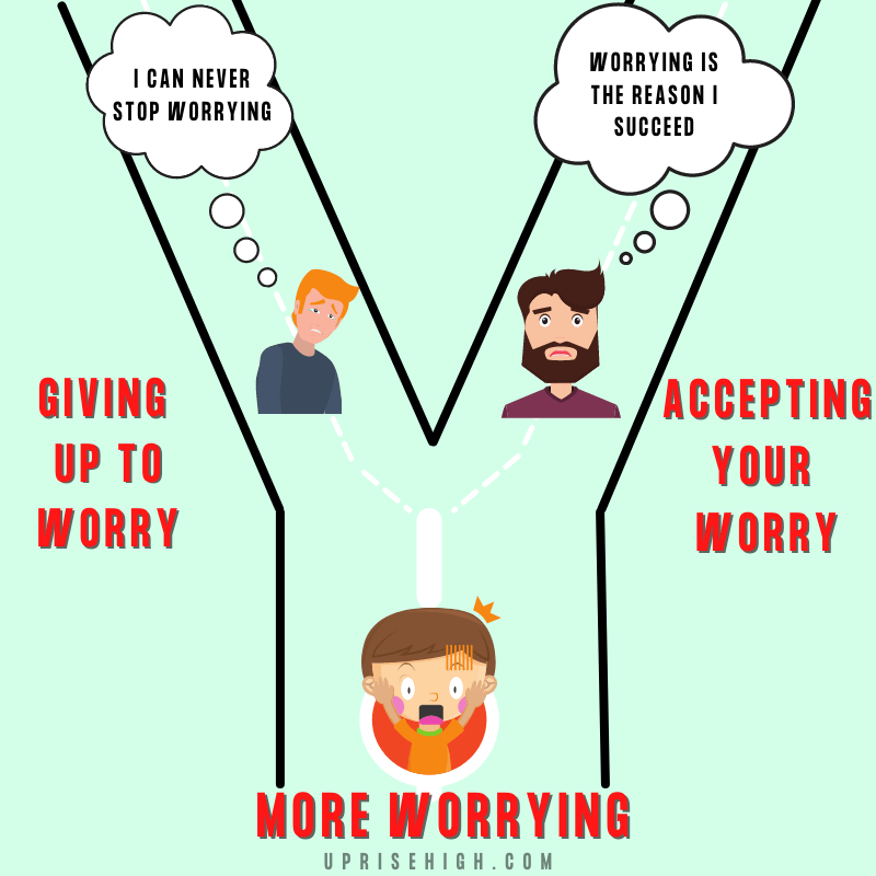 Why can't we stop worrying