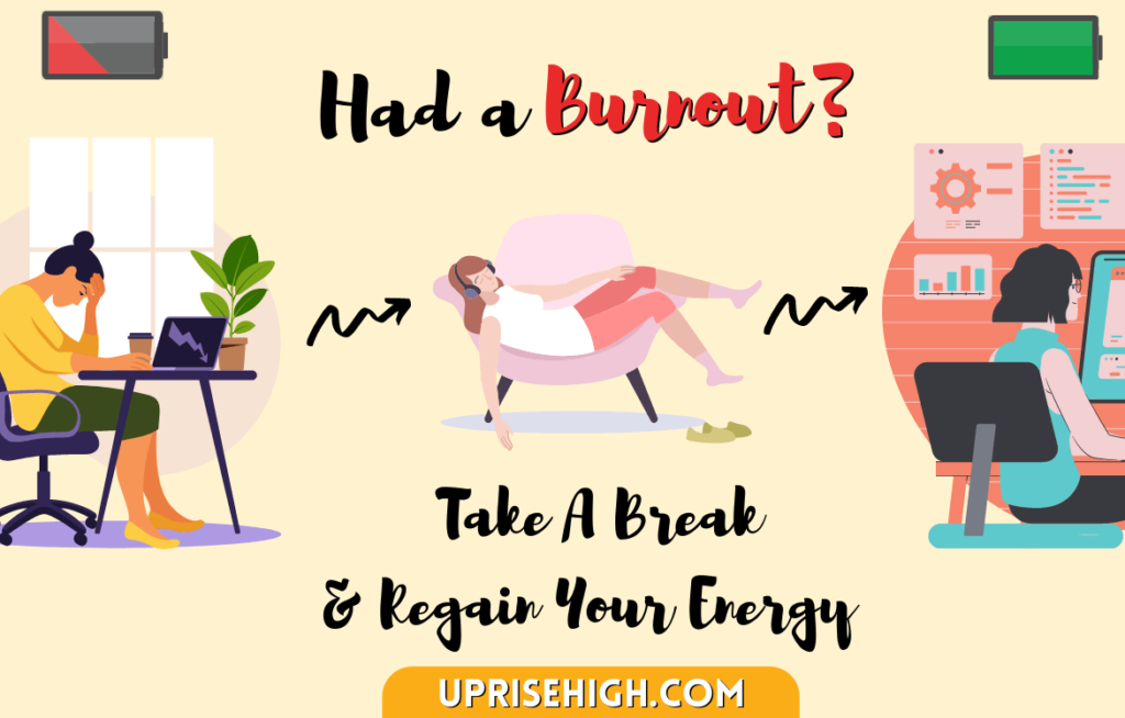 Burnout due to constant self-growth efforts