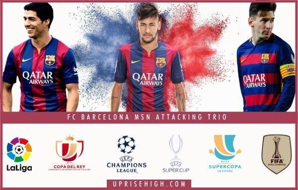 Barcelona MSN Attacking Trio