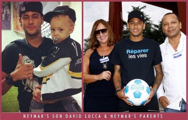 Neymar Jr Son and Parents