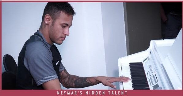 Neymar's Hidden Talent - Piano