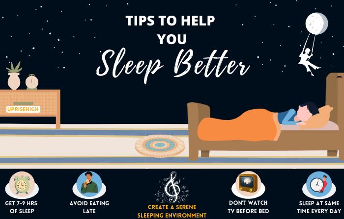 Sleep Better for Better Health.